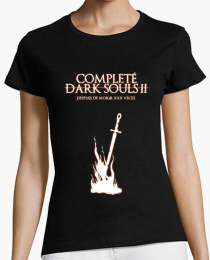 Tee-shirt dark souls 2 (nous contacter pour personnalisée) (fille)