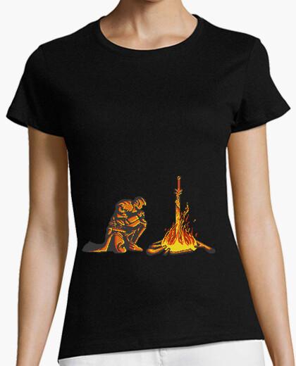 Tee-shirt dark souls bonfire