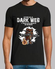 Dark web camiseta de recuerdo pedobear