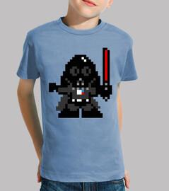 Darth Vader 8 Bits (Camiseta Niño)