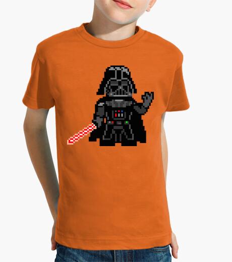 Ropa infantil Darth Vader 8bit (Camiseta Niño)
