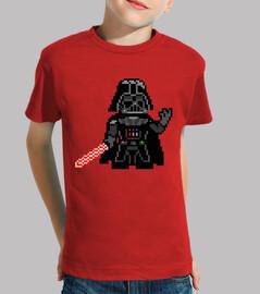 Darth Vader 8bit (Camiseta Niño)