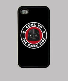 darth vader dark side funda iphone 4 / 4s