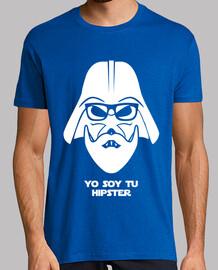Darth Vader Hipster blanc
