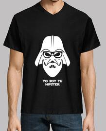 Darth Vader hipster blanco