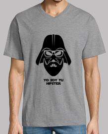 Darth Vader hipster negro