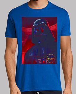 Darth Vader iconic azul