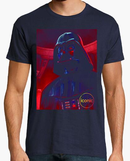 Camiseta Darth Vader iconic negro