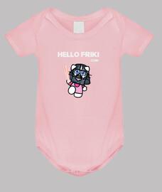 darth vader logo bianco - neonato