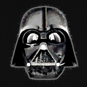 Camisetas Darth Vader Techy Art