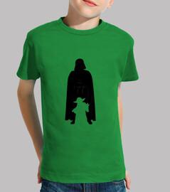Darth Vader y Jedi Yoda niños