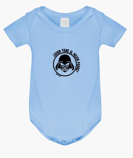Ropa infantil Darth Vadre Mejor Padre bebe