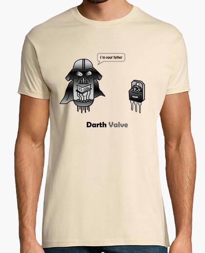 Camiseta Darth Valve, I´m your father. El transistor y su padre la válvula.