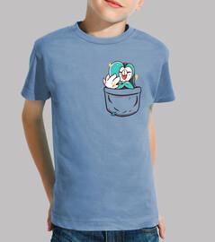 dartrix brillante del bolsillo - camisa de los niños