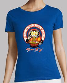 daruma zen ramen camiseta mujer