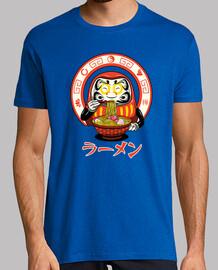daruma zen ramen camiseta para hombre
