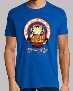 daruma zen ramen shirt herren