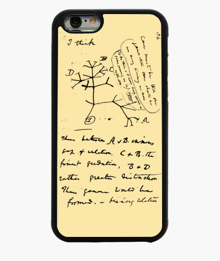 Funda iPhone 6 Darwin completo funda