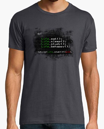 T-Shirt das leben in einem code