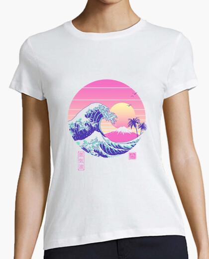 T-Shirt das tolle vaporwave shirt für damen
