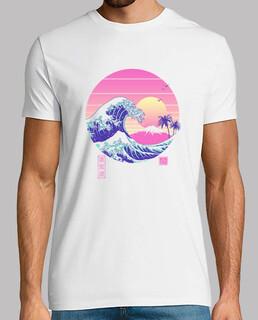 das tolle vaporwave shirt für herren