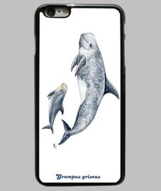 dauphin de risso cas risso de l'iphone 6 plus