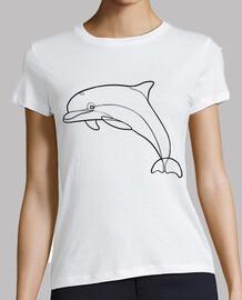 dauphin minimaliste