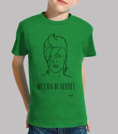 david bowie - nous can être des héros