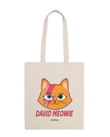 David Bowie parodia Gato, bolsa