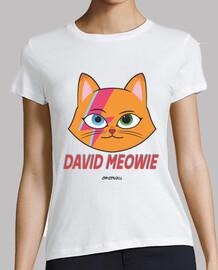 david bowie parodie chat femme