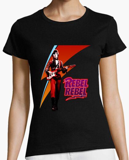 1addb4f09cacd1 david bowie. rebel rebel T-shirt - 1359024 | Tostadora.com