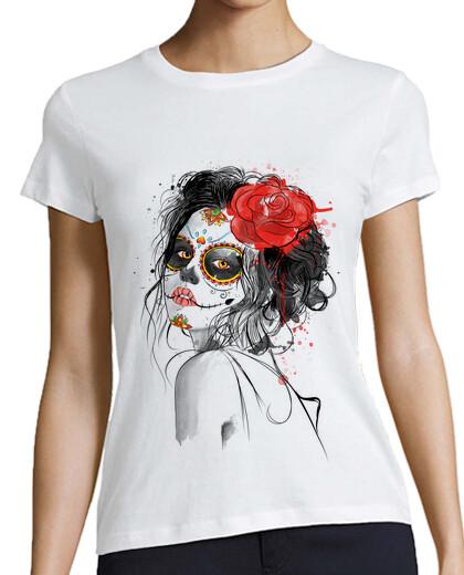 Visualizza T-shirt donna illustrazione