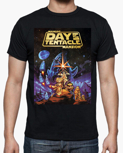 Camiseta Day of the Tentacle - Maniac Mansion