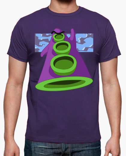 Camiseta Day of the Tentacle - Purple Tentacle
