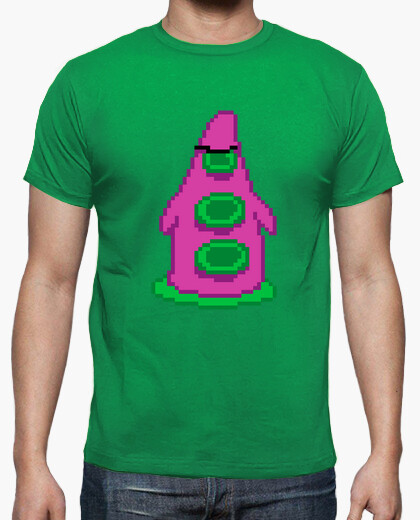 Camiseta Day of The Tentacle Tentaculo Pixel Retro