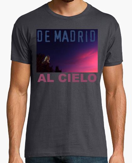 Camiseta De  Madrid al Cielo