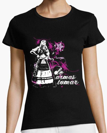 Camiseta De armas tomar - Camisola Muller