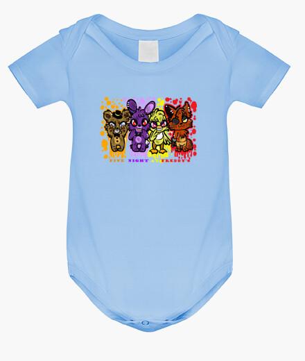 Ropa infantil de cinco noches en freddys cutie -bimbo