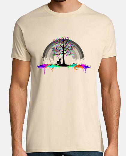 de color ciervos parásito arco iris