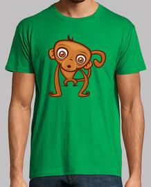 de dibujos animados mono