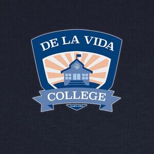 T-shirt De la Vida College