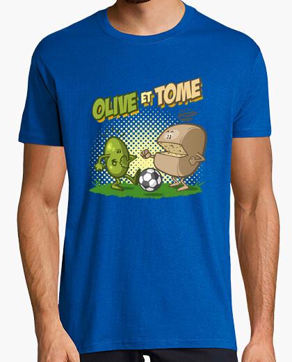Camiseta De oliva y volumen
