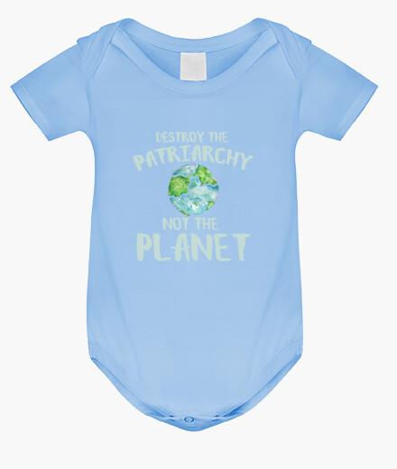 Vêtements enfant détruire le patriarchie not la planète