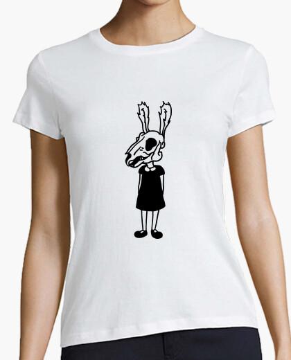 Camiseta Dead bunny skull girl