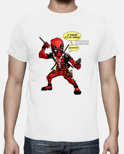 Camisetas Deadpool Comic