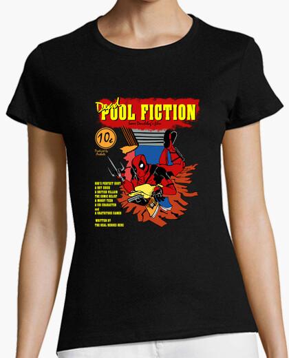T-shirt deadpool finzione