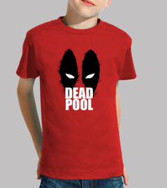 Deadpool (masacre). Manga corta roja infantil