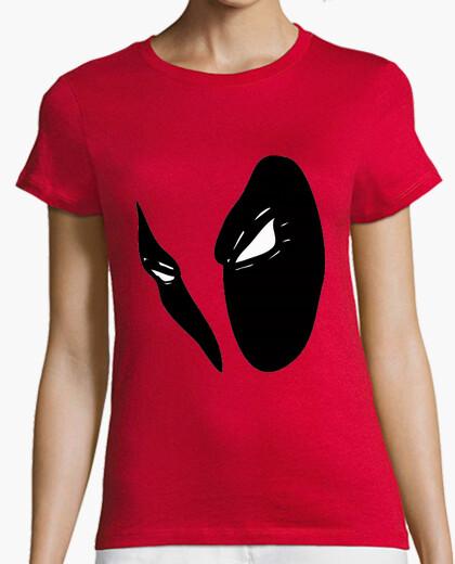 Camiseta Deadpool Sangre (sin texto) mujer