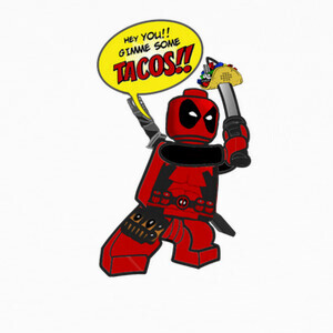 Camisetas Deadpool tacos