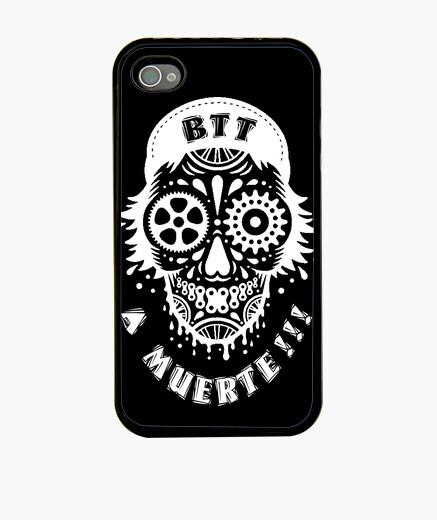 Death blanc iphone iphone cases